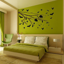 Load image into Gallery viewer, The Bat's Tree Vinyl Wall Decal - Pillbox Designs
