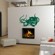 Load image into Gallery viewer, Deep Sea Octopus Vinyl Wall Decal - Pillbox Designs