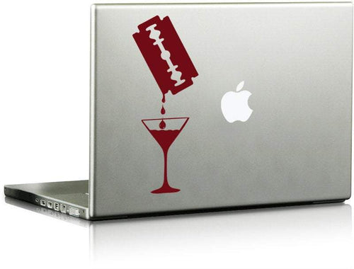 Bloody Martini Die Cut Decal - Pillbox Designs