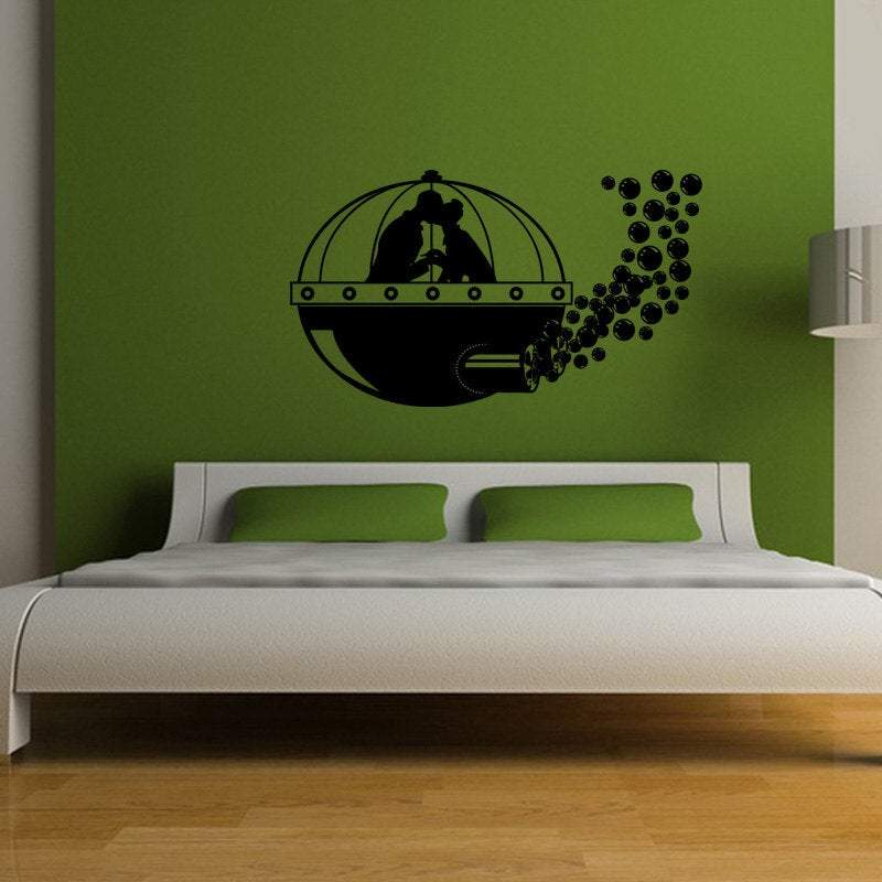 Diving Bell Adventure Vinyl Wall Decal - Pillbox Designs