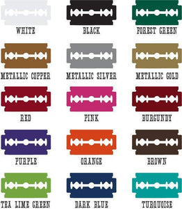 Vintage Microphone Die Cut Decals - Pillbox Designs