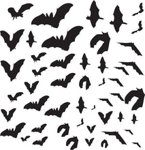 Load image into Gallery viewer, Bat Attack Pack /Vinyl Wall Decal - Pillbox Designs