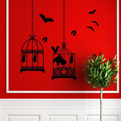 Bat Cages Wall Decal - Pillbox Designs