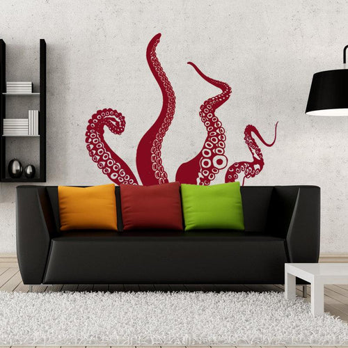 Medium Kraken/Octopus Tentacles Vinyl Wall Decal - Pillbox Designs