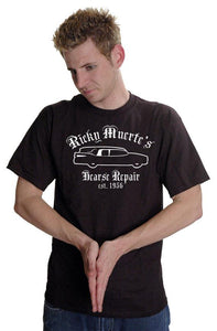 Ricky Muerte's Hearse Repair T-Shirt Customizable - Pillbox Designs