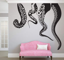 Load image into Gallery viewer, Jumbo Tentacles Vinyl Wall Mural Decal - Pillbox Designs