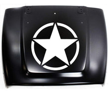 Load image into Gallery viewer, Military Star Oscar Mike Hood Decal - Pillbox Designs