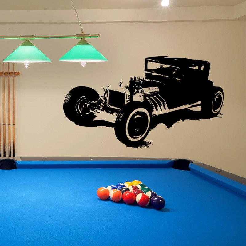 Model-T Rat Rod Hot Rod Vinyl Wall Decal-Choose Any Color