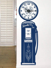 Load image into Gallery viewer, Gas Pump Clock Kit & Vinyl Wall Art - Custom Wording Available - Pillbox Designs
