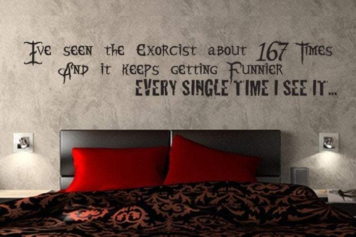 Beetlejuice Cult Classic Movie Quote- Vinyl Wall Decal - Pillbox Designs