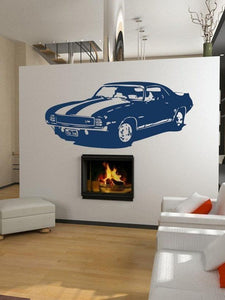 1969 Camaro Z/28 Muscle Car Vinyl Wall Decal - Pillbox Designs