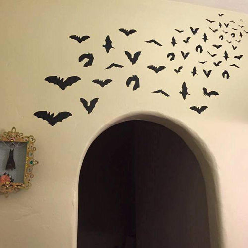 Bat Attack Pack /Vinyl Wall Decal - Pillbox Designs