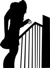 Load image into Gallery viewer, Nosferatu w/Stairs Shadow Vinyl Wall Decal - Pillbox Designs