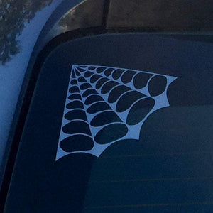 Spider Web Pack Etched Glass Vinyl Decal - Pillbox Designs