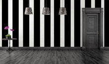 Load image into Gallery viewer, Gothic Wall Stripes Vinyl Decals Wallpaper - Pillbox Designs