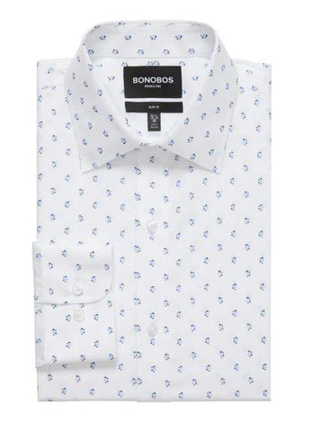 bonobos white dress shirt