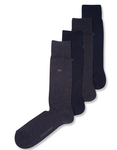 Black classic dress socks from Calvin Klein