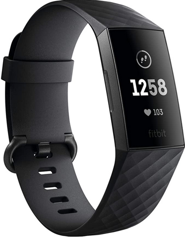Fitbit Charge 3 Fitness Activity Tracker in black