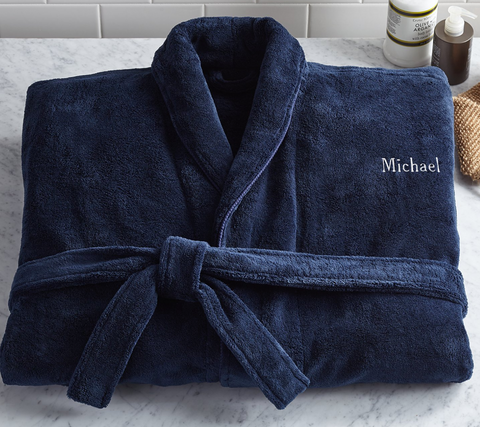 Men's Five-Star Plush Robe