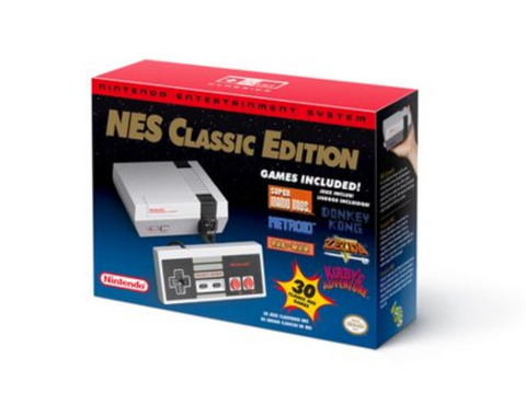NES Classic System Product Box - Nintendo