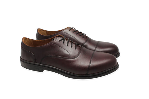 plaintoe oxford dress shoe in black