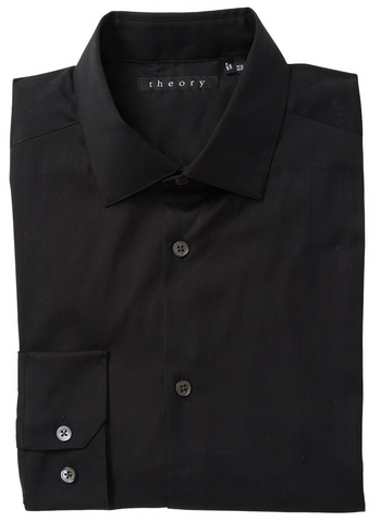 Black dress shirt from Saks 5th