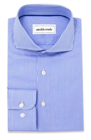 slim fit french placket