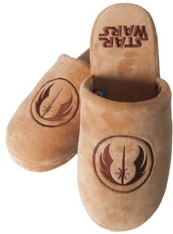 Stars Wars Jedi Mule Slippers in brown