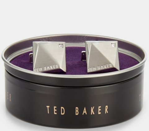 ted baker cufflinks in product box