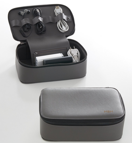 Travel Tech Dopp Kit in gray