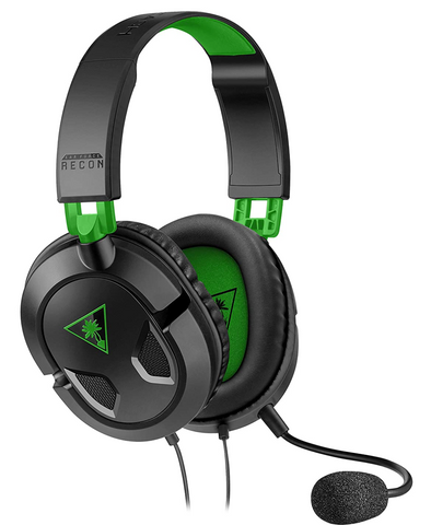 Turtle Beach - Ear Force Recon 50X Stereo Gaming Headset in green and black
