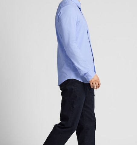 Uniqlo Easy Care Slim Fit