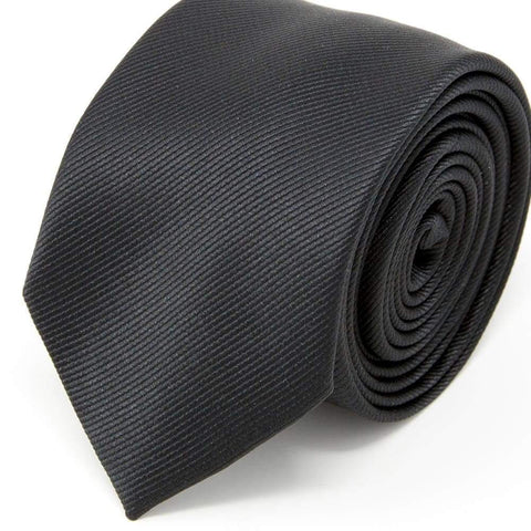 Nimble Made Classic Solid Black Tie