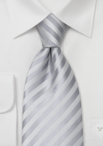 bows n ties festive silver on white dress shirt