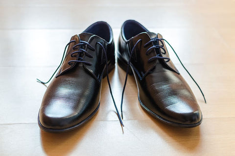 dark male shoes