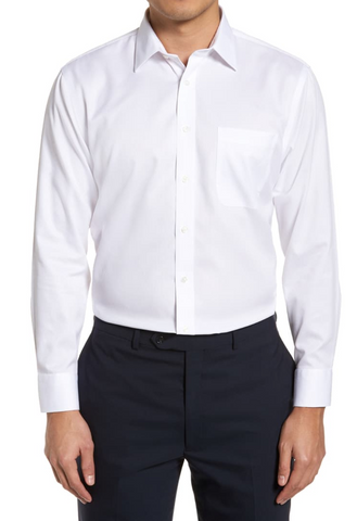 smartcare trim fit dress shirt