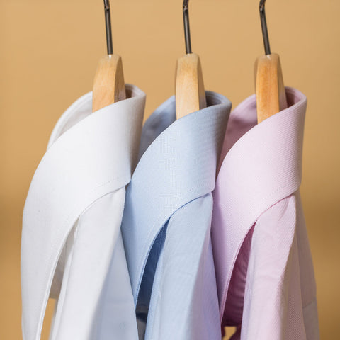 close up dress shirts slim fit