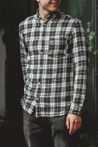 flannel with jeans