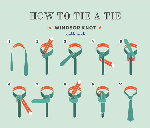 how to tie a full windsor knot