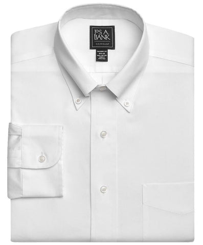 mens slim fit button down shirt jos a bank