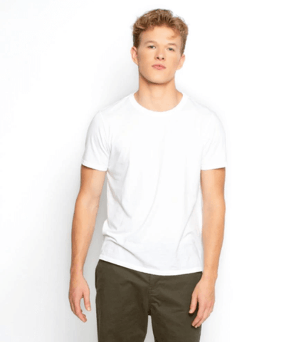 mens white tshirt