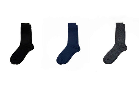 mens business professional dress socks