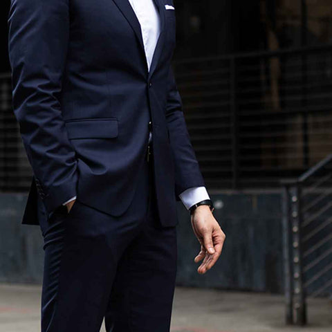 best mens suit sleeve length