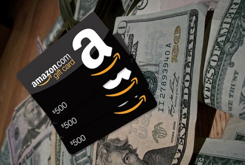 money and amazon gift cards