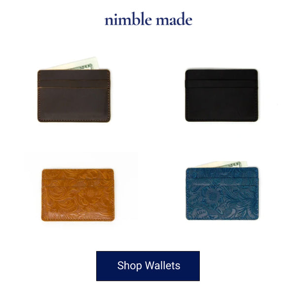 slim wallets from nimblemade