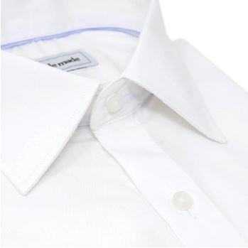 mens white dress shirt slim fit