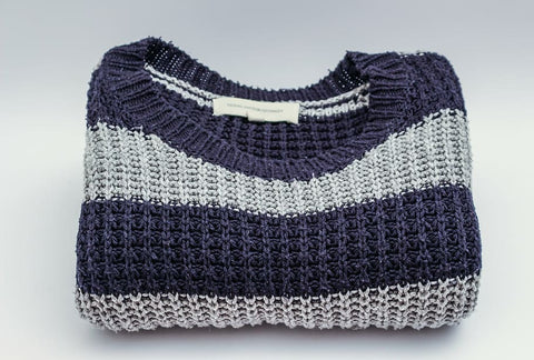 men striped sweater