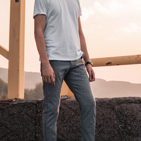 tapered fit jeans for men