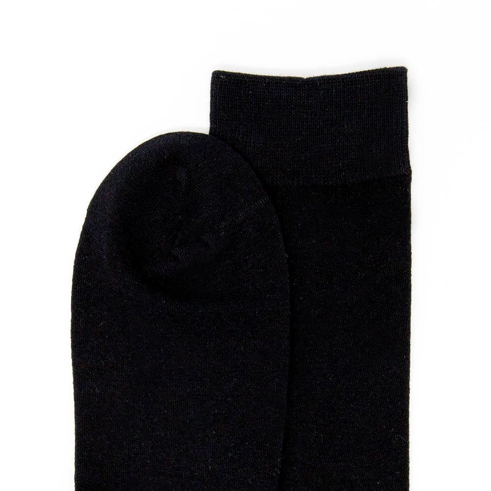 Classic Black Dress Socks