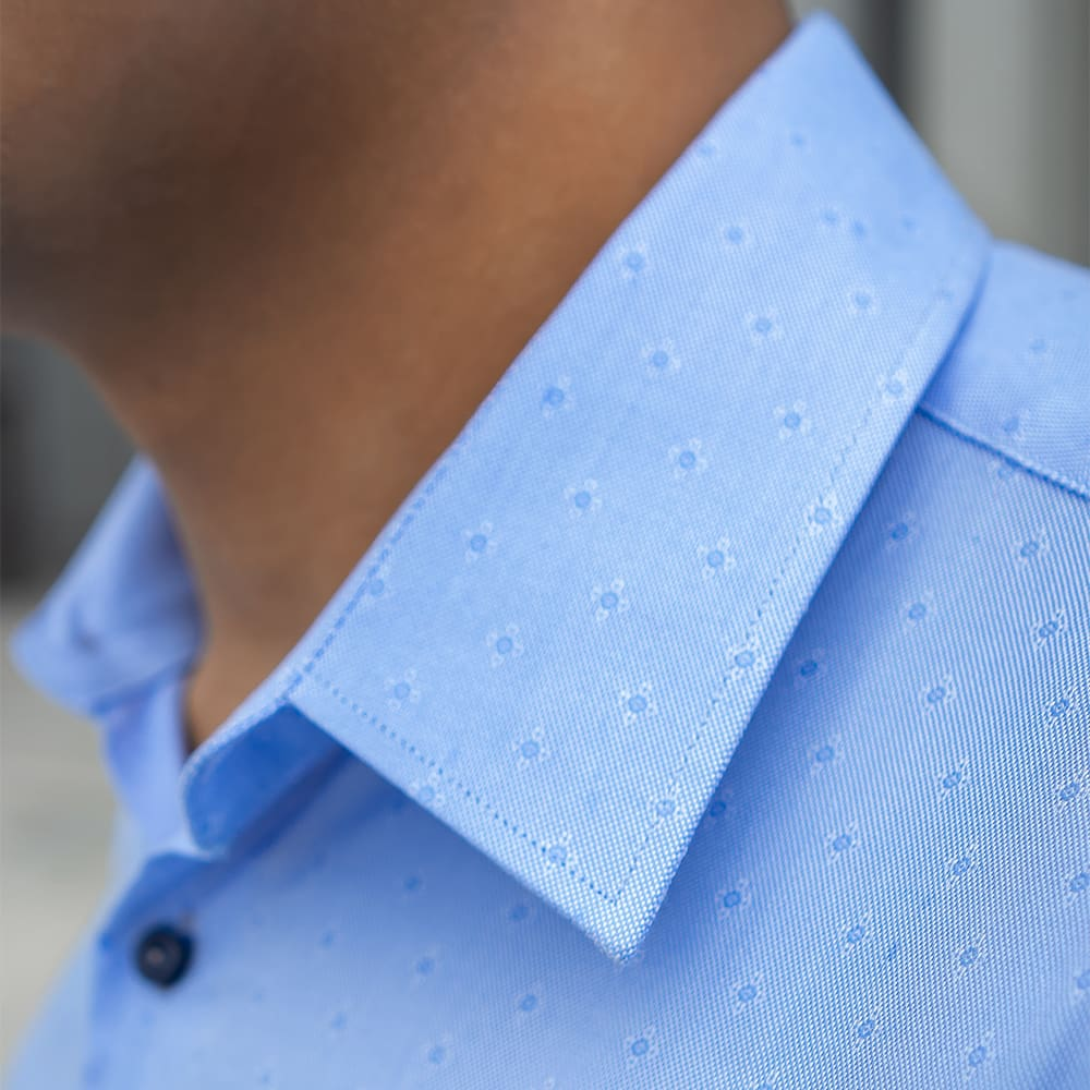 Men's Floral Pattern Dress Shirt - Slim Fit | The Osmanthus